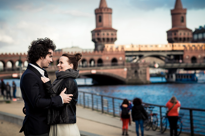 After Wedding Shooting – Oberbaumbrücke