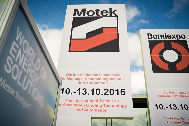 Motek – Messe Stuttgart 2016