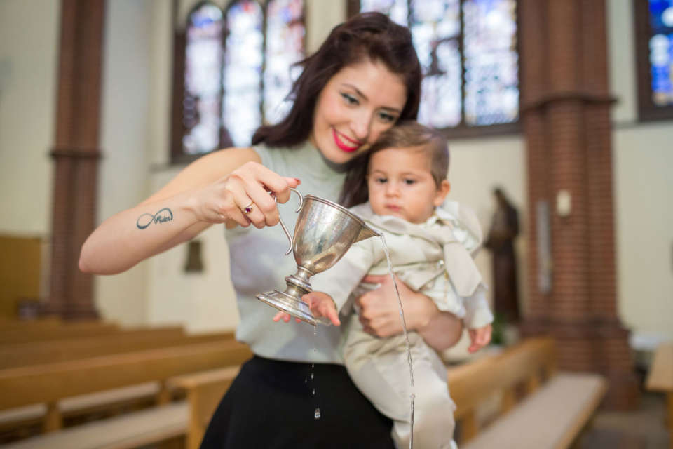 Taufe Gioele – Heilig Kreuz Kirche