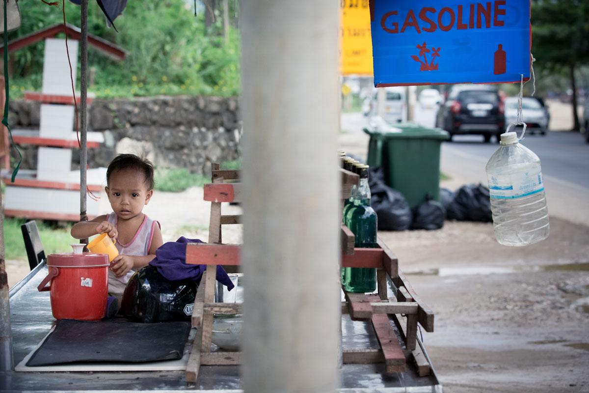 Tankstelle – Thailand Koh Yao Noi