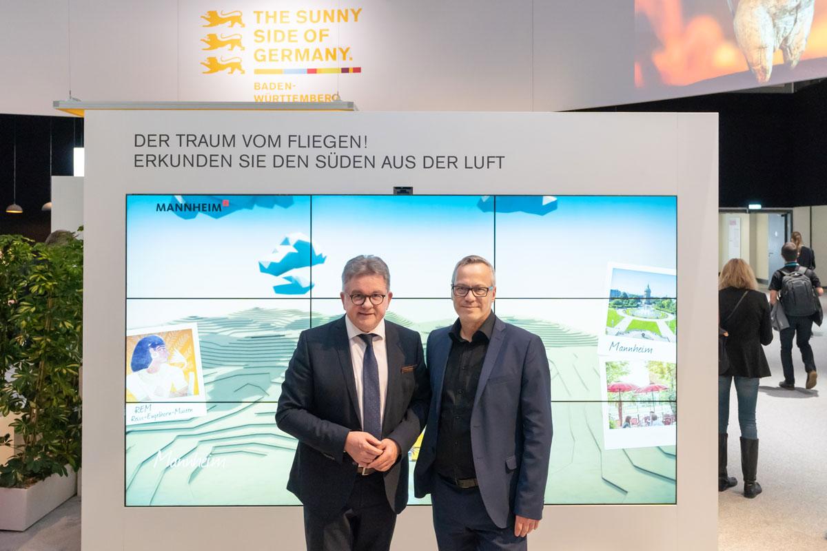 Tourismus BW und Europa-Park auf der ITB 2019